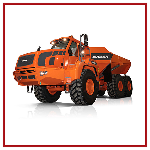 Doosan Articulated Dump Trucks Da40