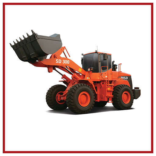 Doosan Wheel Loader Sd300