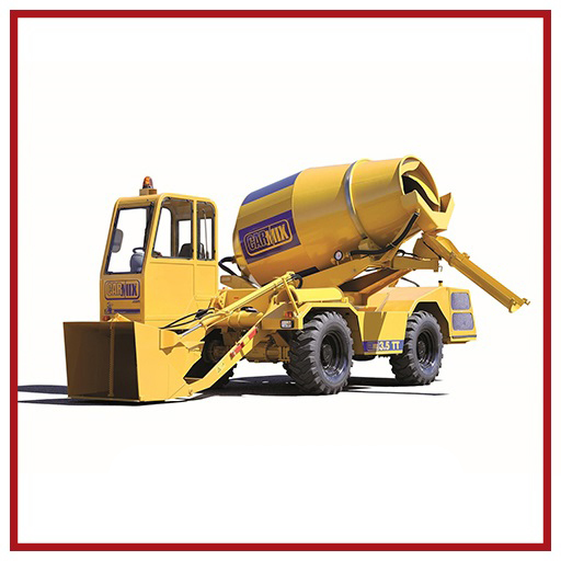 Carmix Self-loading Concrete Mixer 3.5 Tt