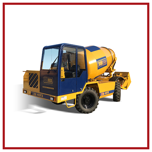 Carmix Self-loading Concrete Mixer 45 Fx