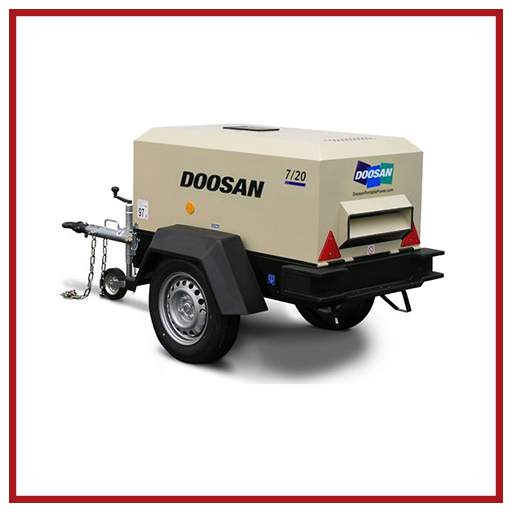 Doosan Portable Power Air Compressors 7/20