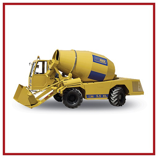 Carmix Self-loading Concrete Mixer 5.5 Xl