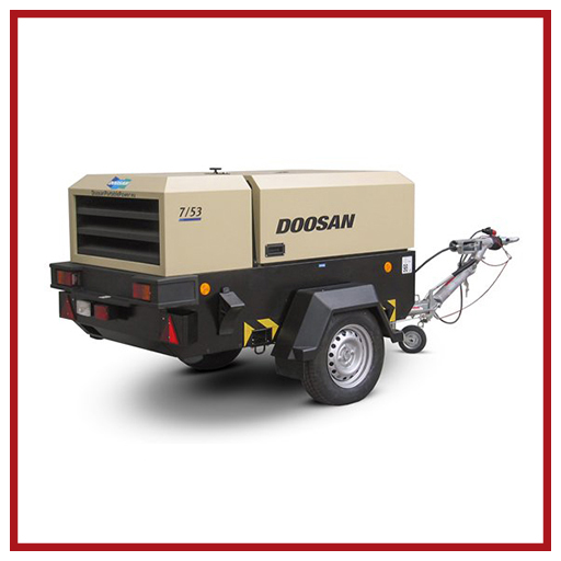 Doosan Portable Power Air Compressors 7/53