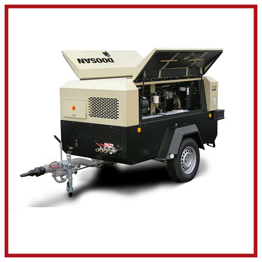 Doosan Portable Power Air Compressors 7/71