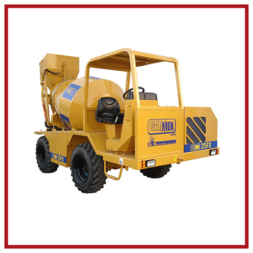 Carmix Self-loading Concrete Mixer 25 Fx