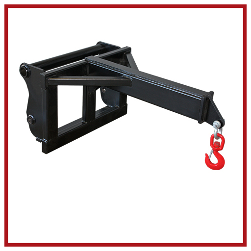 Bobcat Attachments Jib Crane