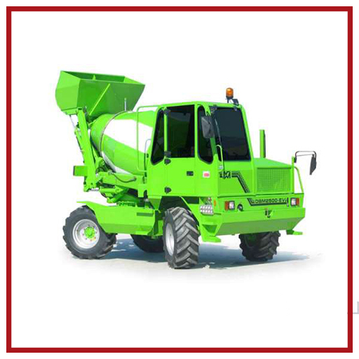 Merlo Self-loading Concrete Mixer Dbm2500