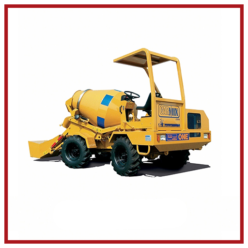 Carmix Self-loading Concrete Mixer One