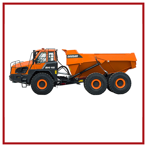 Doosan Articulated Dump Trucks Da45