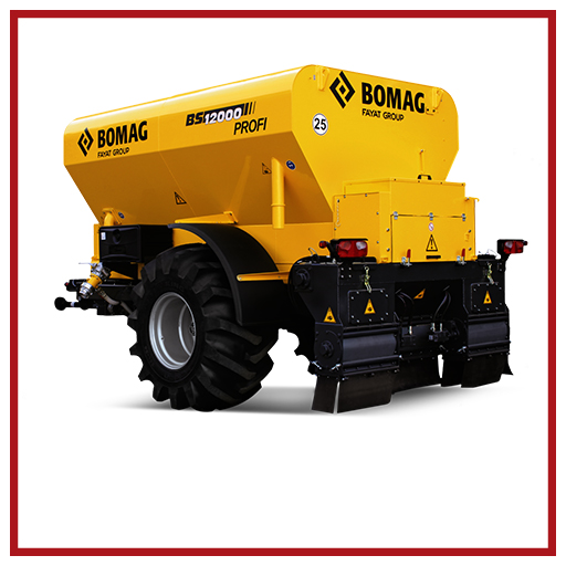 Bomag Binder Spreader Bs 12000 Profi